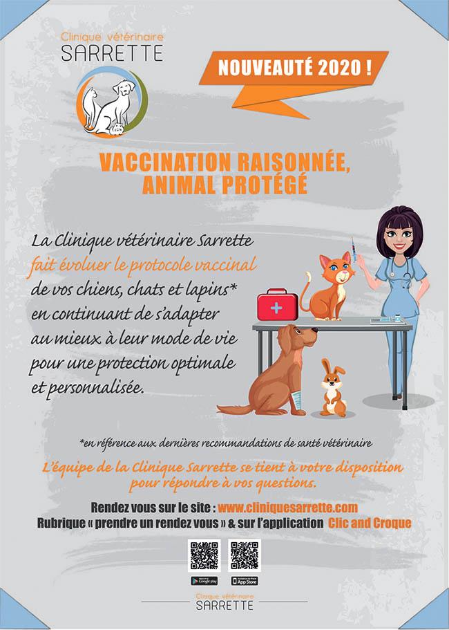 Vaccination raisonnée animal protégé