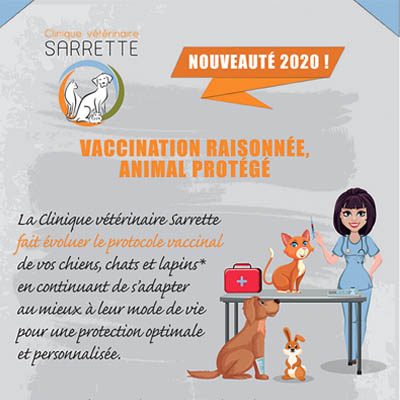 Vaccination clinique vétérinaire paris 15